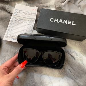 Authentic Chanel sunglasses